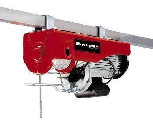 tecle eléctrico tc-eh 1000. einhell (envío gratis stgo)