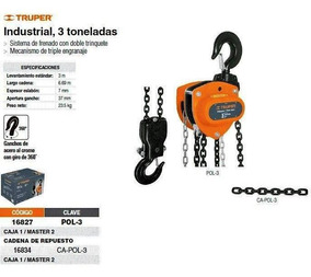 3 cadenas de sierra 3//8P-34E-1,3 para 20 cm Black /& Decker PP2018 CSC818