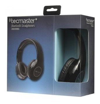 tecmaster audifonos manos libres bluetooth 4.1 negro