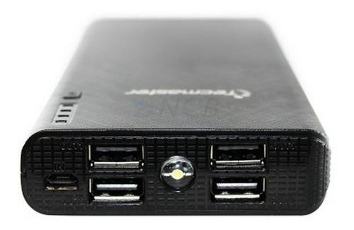 tecmaster bateria portátil de 16000 mah color black