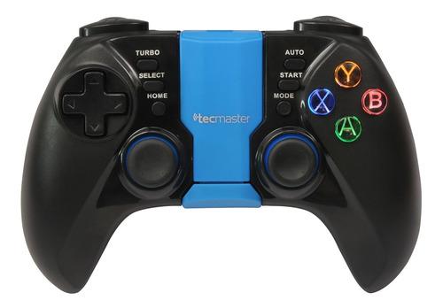 tecmaster controlador para smartphone bt, iluminado, azul
