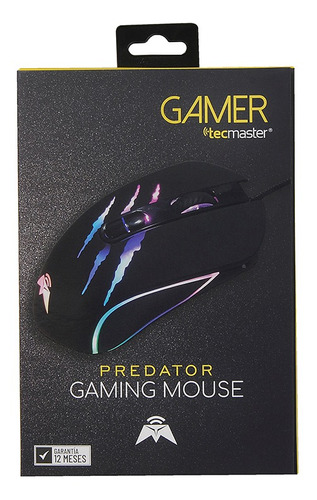tecmaster gaming mouse predator