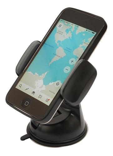 tecmaster soporte de auto para telefonos base giratoria 360º