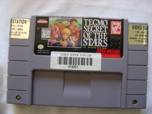 tecmo secret of stars a fantasy completa.confira!!