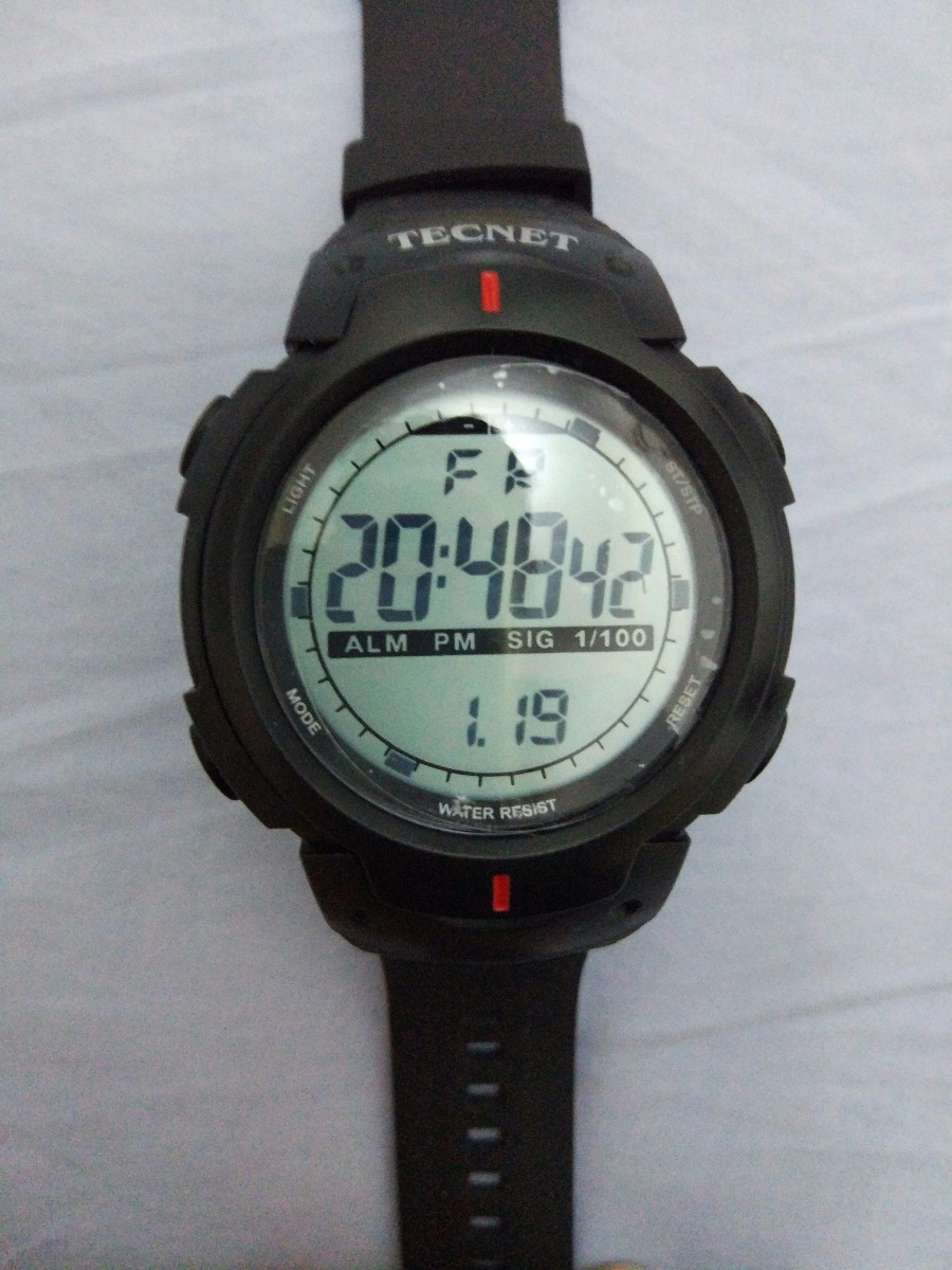 34f66a07d44 tecnet relogio digital prova dágua estilo militar barato. Carregando zoom.