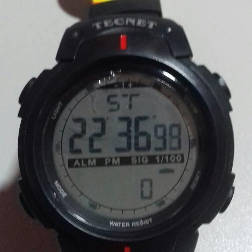 1f683335333 Tecnet Relogio Digital Prova Dágua Estilo Militar Promoção - R  29 ...