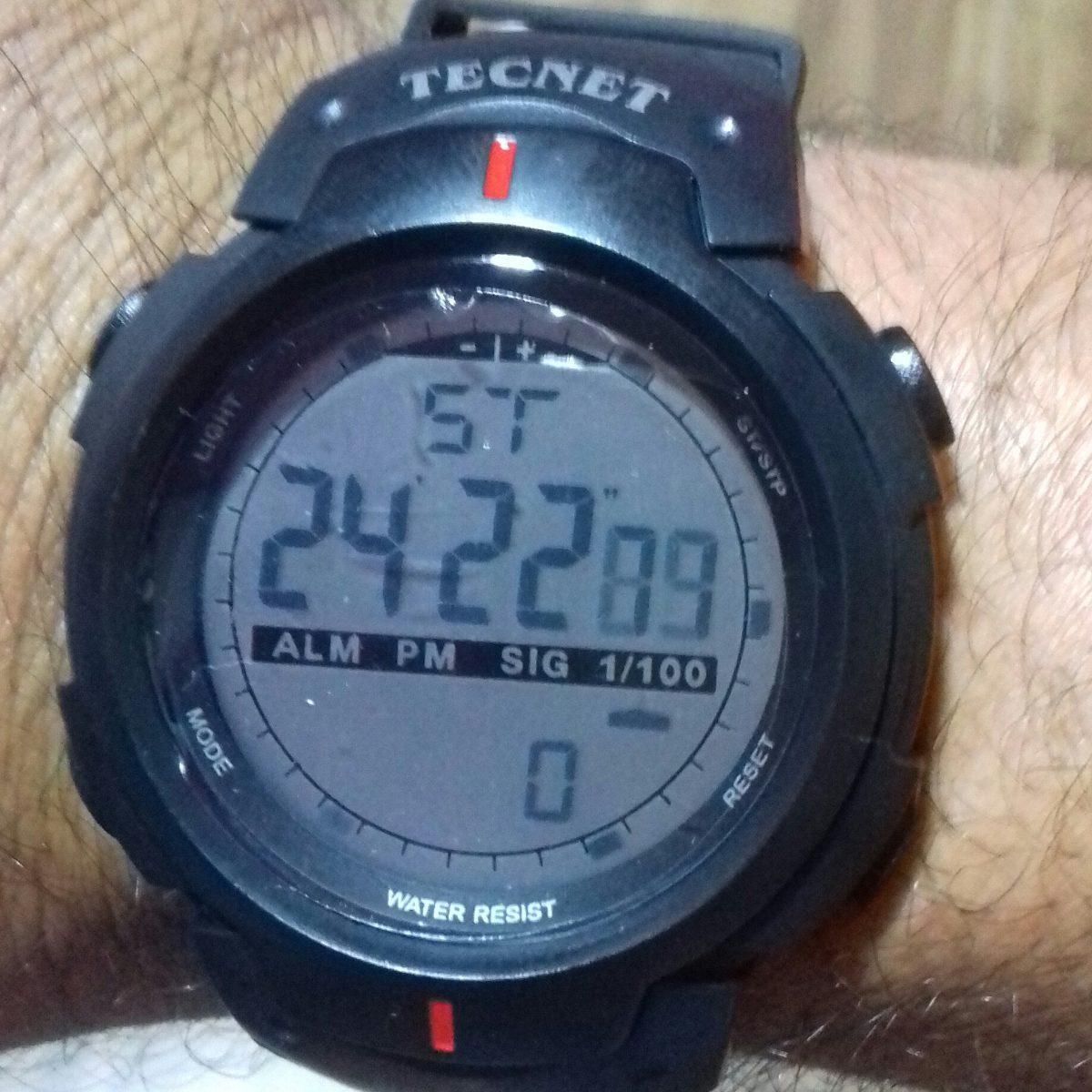 3b26a948e3c tecnet relogio prova dágua .similar 7330 atlantis. Carregando zoom.