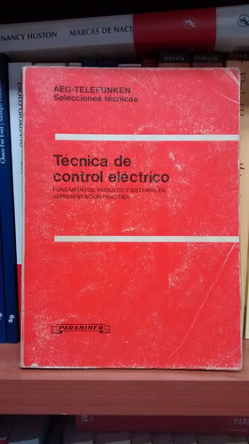 tecnica de control electrico fundamentos modu aeg-telefunken