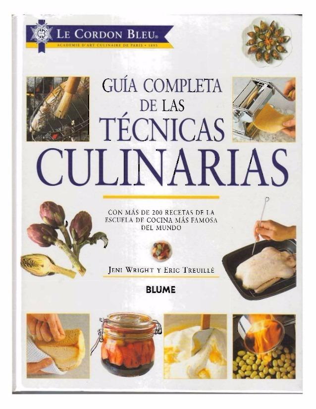 tecnicas culinarias le cordon bleu manual cocina pdf bs