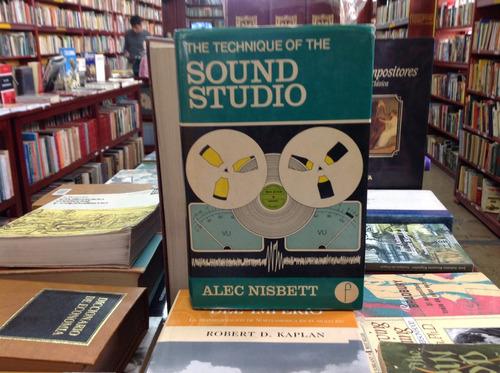 técnicas de sonido para cine. the tecnique of sound studio.
