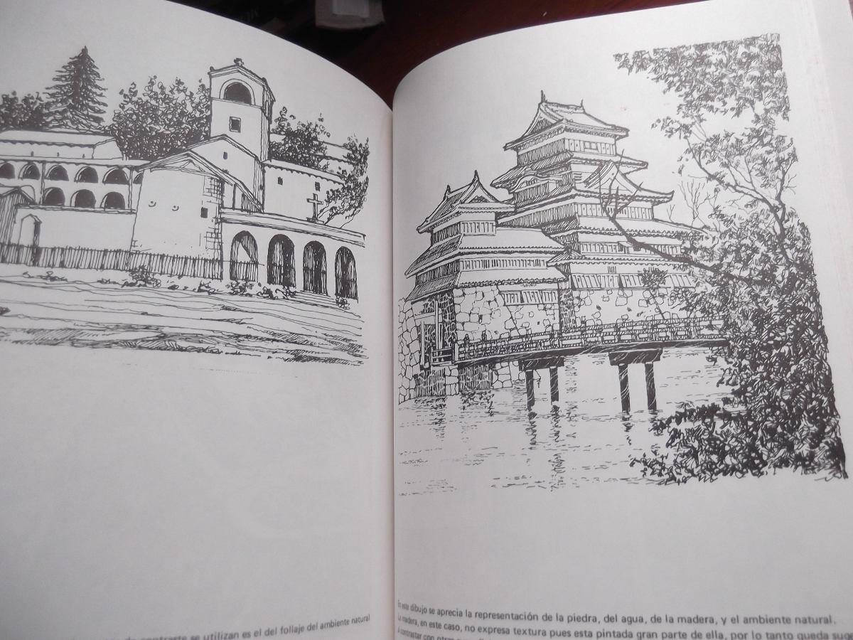 Tecnicas y texturas en el dibujo arquitectonico marin for Libros sobre planos arquitectonicos