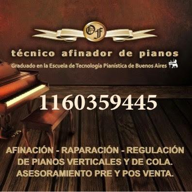 tecnico afinador  de pianos,  luthier