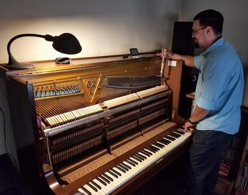 técnico afinador restaurador de pianos - traslados
