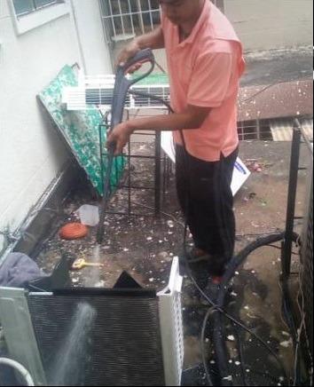 tecnico aire acondiconado mantenimiento reparacion instalaci