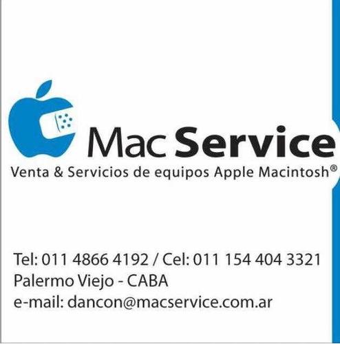 técnico apple macintosh software.