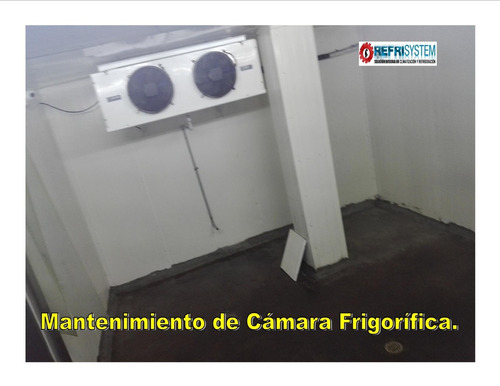 técnico cámara frigorífica aire acondicionado refrigeradoras