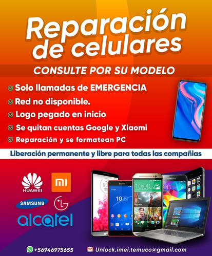 técnico celular servicio
