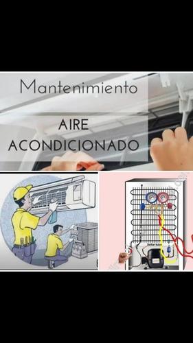 técnico de aires acondicionados y neveras