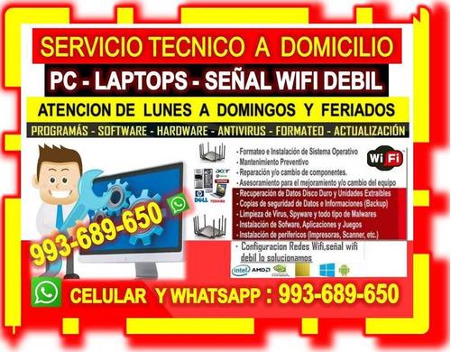 tecnico de cableados internet tv repetidores wifi domicilio