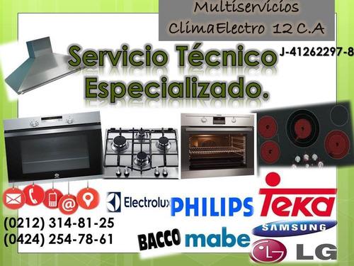 técnico de cocinas hornos teka samsung general electric
