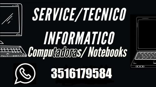 tecnico de computadoras notebooks servicio cordoba capital