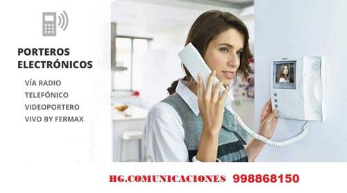 tecnico de intercomunicadores fermax 998868150