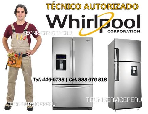 técnico de refrigeradoras a domicilio