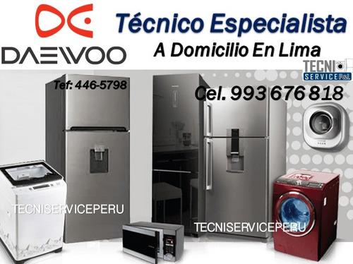 técnico de refrigeradoras y lavadoras en lima