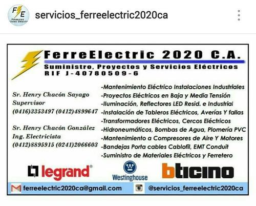 tecnico electricista empresa serviciosen general, ingeniería