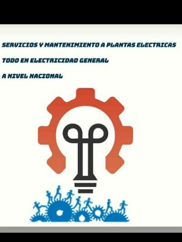 tecnico electricista y plantas electricas