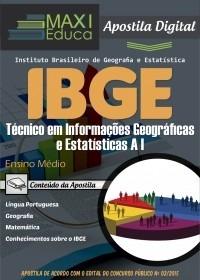 técnico em informações geográficas e estatísticas a i - ibge