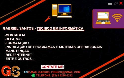 técnico em informática - goiânia