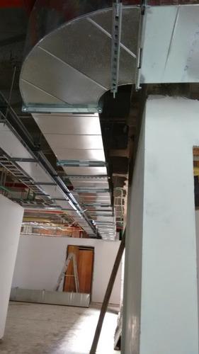 tecnico en aires acondicionados ,instalacion de ducteria
