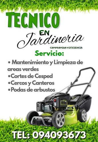 tecnico en jardineria