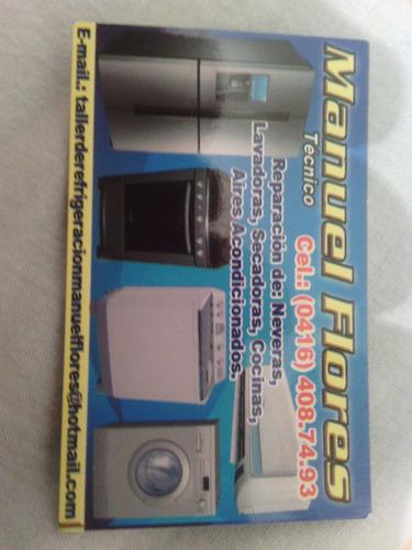 técnico en nevera electrolux frigidaire