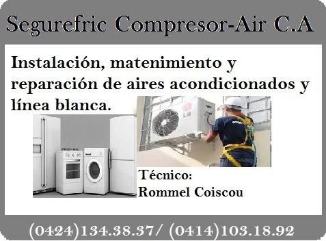 técnico en refrigeración aires acondicionados y linea blanca