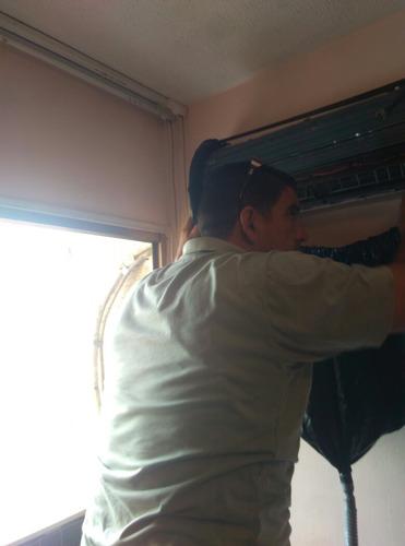 técnico en refrigeración. aires acond..split,piso techo fanc