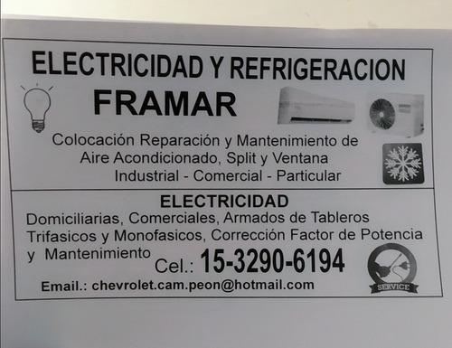 técnico en refrigeración y electricidad industrial