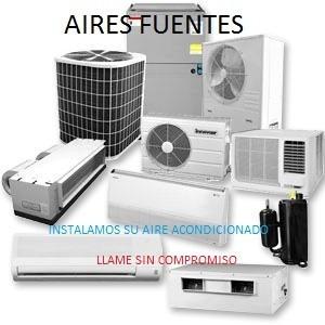 técnico especializado en aires acondicionados
