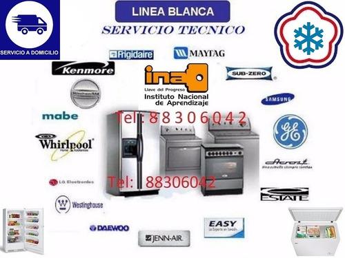 tecnico ina.rep lavadoras secadoras refrigeradoras 8830-6042