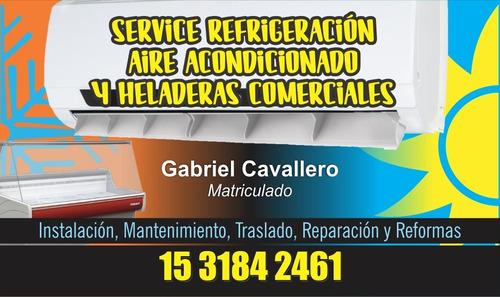 técnico instalación aire acondicionado