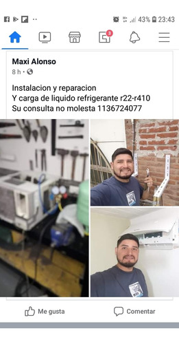 tecnico instalador aire acondicionado