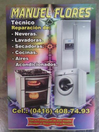 tecnico lavadora electrolux y otras marca