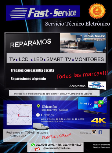 técnico lcd servicio