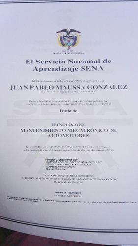 técnico mantenimiento automotriz.servicio a domicilio.