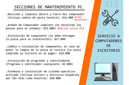 técnico notebooks, servicio