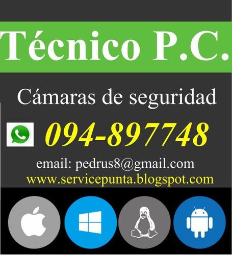 técnico p.c, notebook, cámaras, redes, celulares