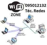 técnico redes wifi wireless inalámbricas adsl alcance camara
