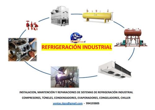 técnico refrigeración comercial e industrial