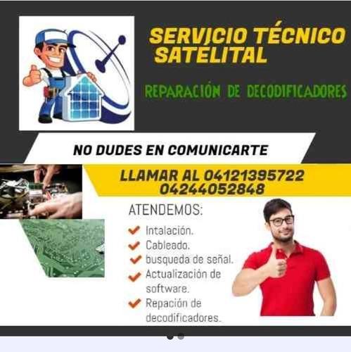 tecnico señal satelital- inter satelital-movistar tv